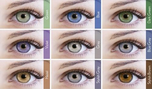 9376df3531cc3 Mude o seu olhar com lentes de contato Lunare coloridas!